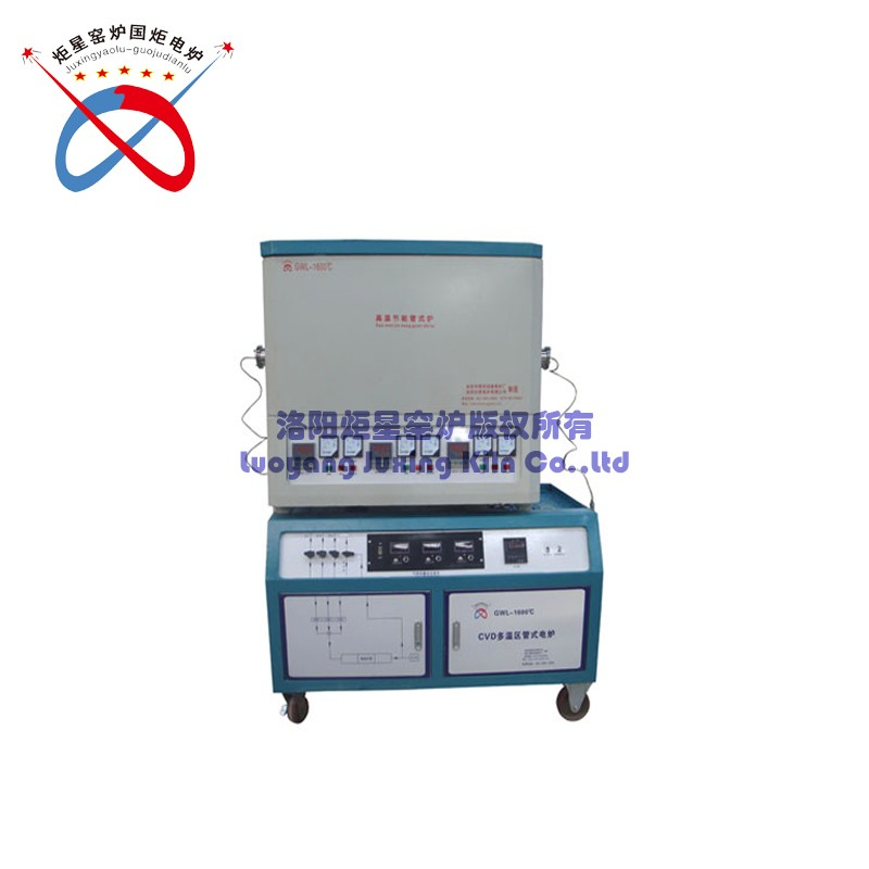 Multi-temperature Zone Tube Furnace With Gas Control Cabinet(GWL-DWQGA)